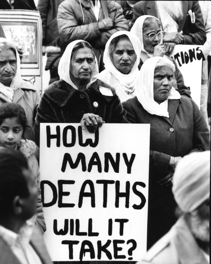 SFU-Photos-168-PritamKaurFarmworkerFriendsProtest-1983-NIS