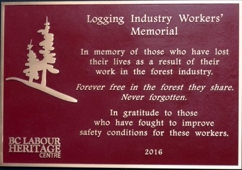 Barriere Forestry Memorial