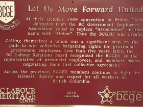 BCGEU Founding Convention-Prince George (2016)