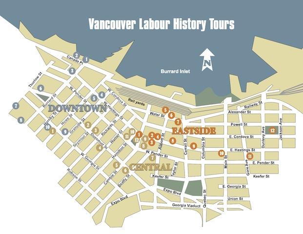 Walking Tour Areas