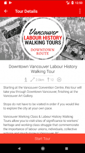 'BC Labour History Walking Tours' App now available on the Apple Store and Google Play