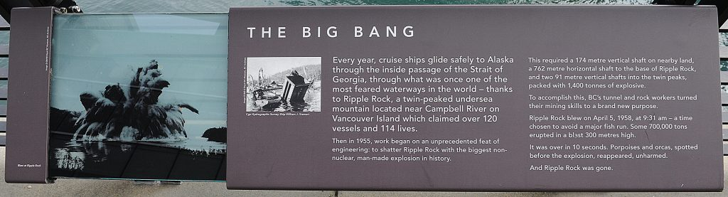 Plaques at the Vancouver Convention Centre