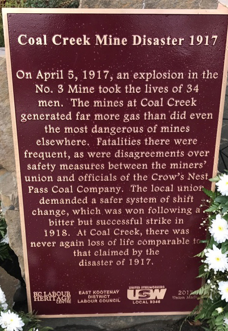 Coal Creek Mine Disaster 1917