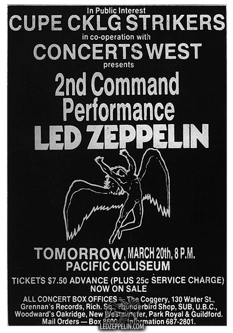 The Day Led Zeppelin Became Part of the Union