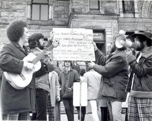 Lloyd Edwards Leads Surrey Teachers to take Action on Class Sizes in 1974