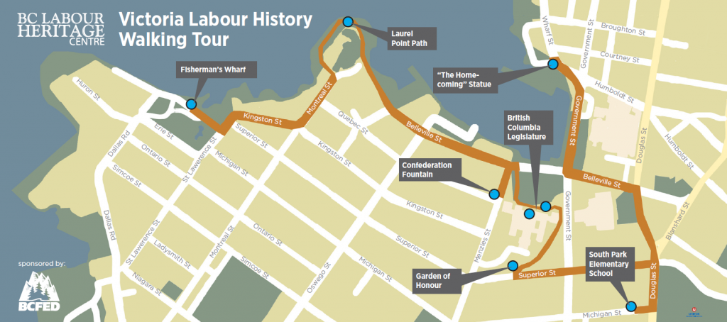 Labour History Walking Tours