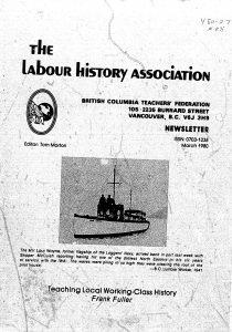 Labour History PSA