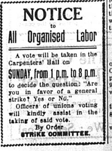 The 1919 Prince Rupert General Strike