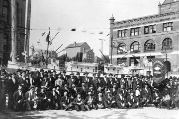 Early Labour Day Parades