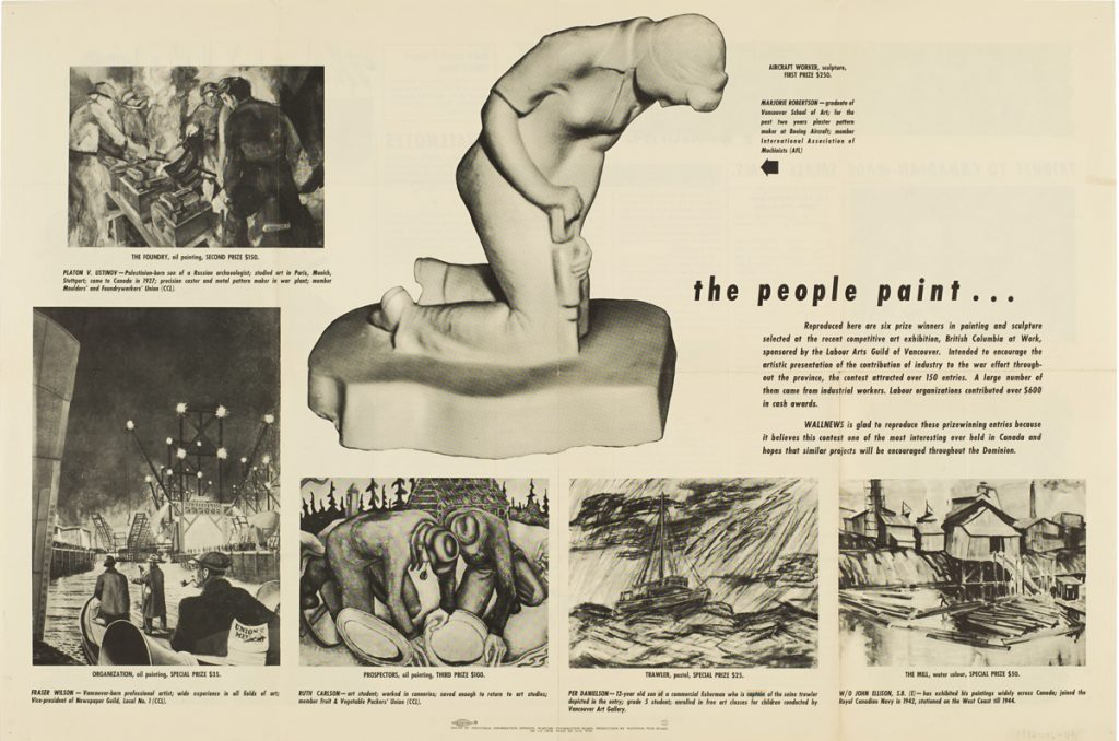 The People Paint: BC Artists and the Victory of Democracy Over Fascism