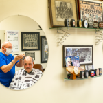 BC's only union barbershop. Josh Berson photo.